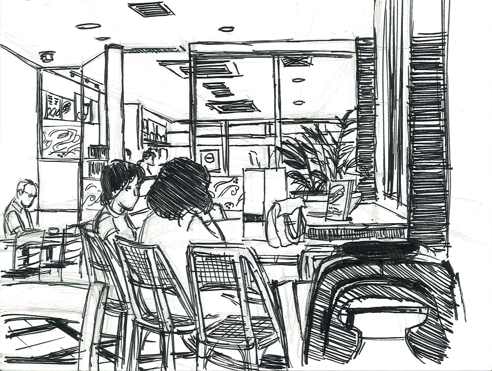 The Gallery For Coffee Bean Sketch
