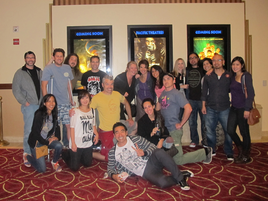 family guy goes to see the dark knight rises a photo essay the crew