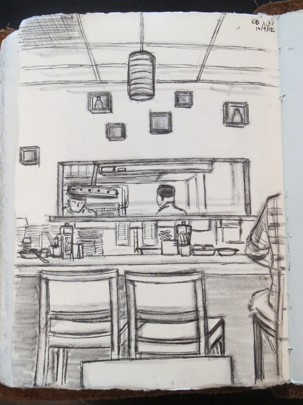 Bea Bea's counter sketch
