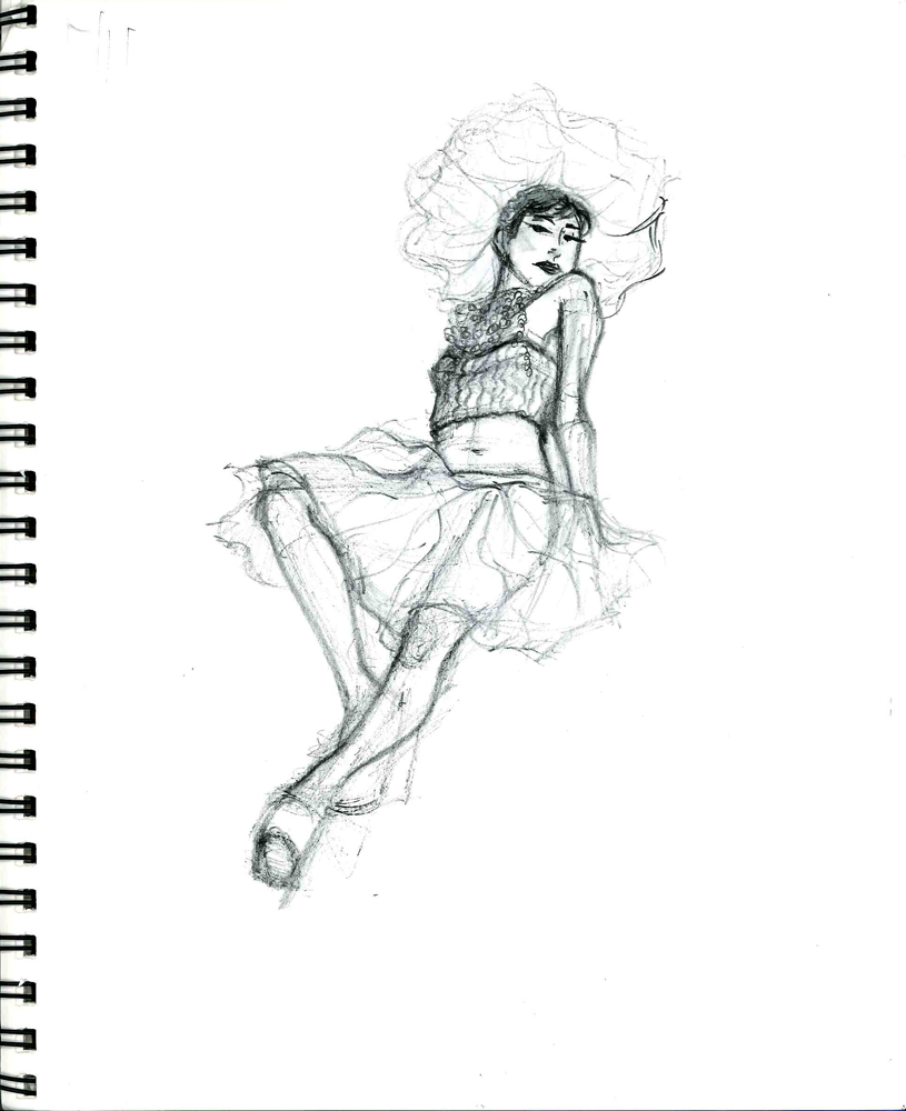 Sugar Plum Fairy drawing 2