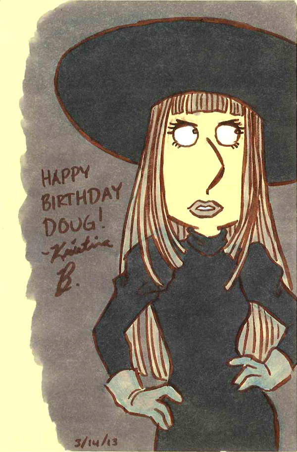 Lois Griffin/Yukari Hayasaka birthday drawing for my co-worker Doug.