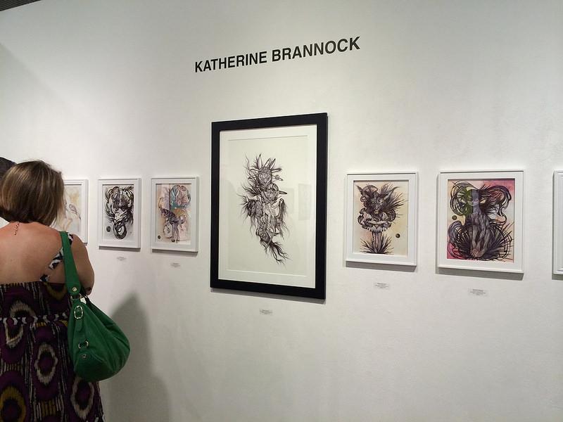 Katherine Brannock wall