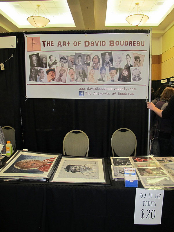 The Art of David Boudreau booth