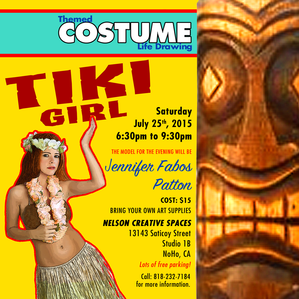 Tiki Girl flyer